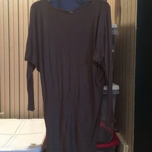Vince dolman sleeve mini dress/tunic